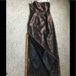 Jessica McClintock Dresses - Jessica McClintock Strapless Gown